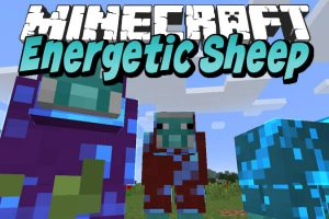 Energetic Sheep Mod for Minecraft