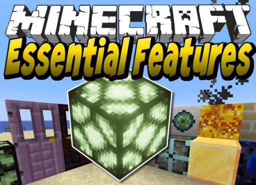 Essential Features Mod for Minecraft