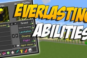Everlasting Abilities Mod for Minecraft