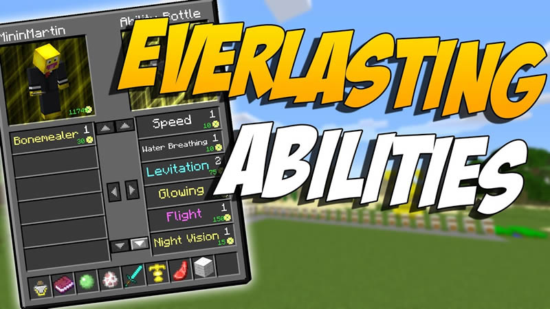 Everlasting Abilities Mod for Minecraft