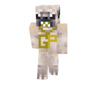 Gangsta Pug skin for Minecraft