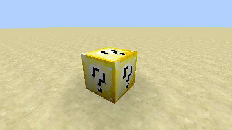 Lucky Block Orespawn Mod Screenshot