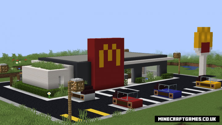 McDonalds Map Screenshot 2