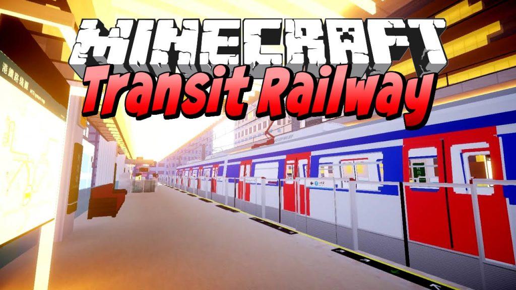 Minecraft Transit Railway Mod