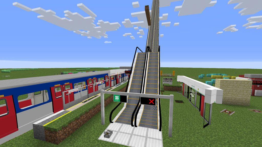 Minecraft Transit Railway Mod Screenshot 4