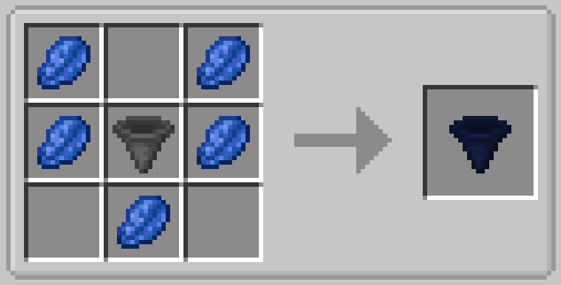 Player Hopper Mod Crafting Recipe