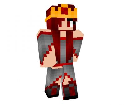 Queen Nemi Skin for Minecraft Girl