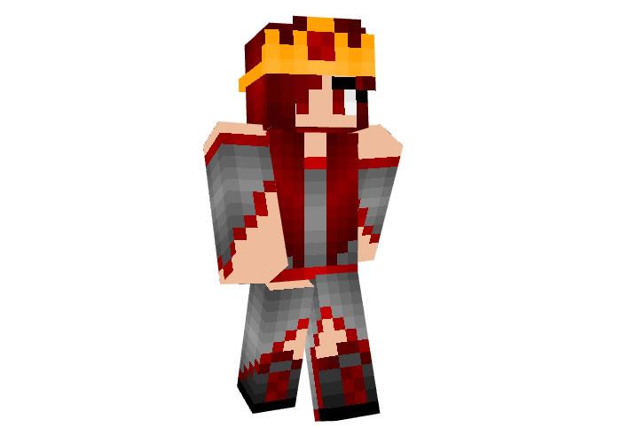 Queen Nemi Skin for Minecraft Girl