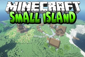 Small Island with Farmhouse Map for Minecraft