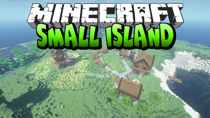 Small Island Map for Minecraft