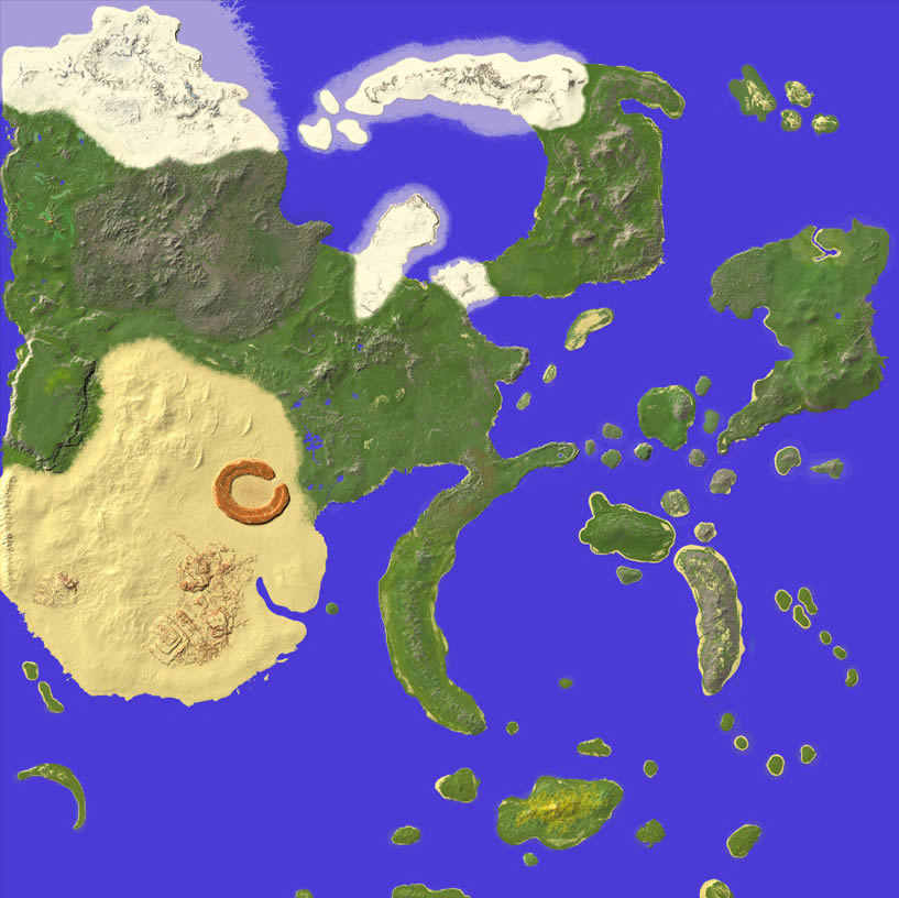 The World of Naruto Map Screenshot 8