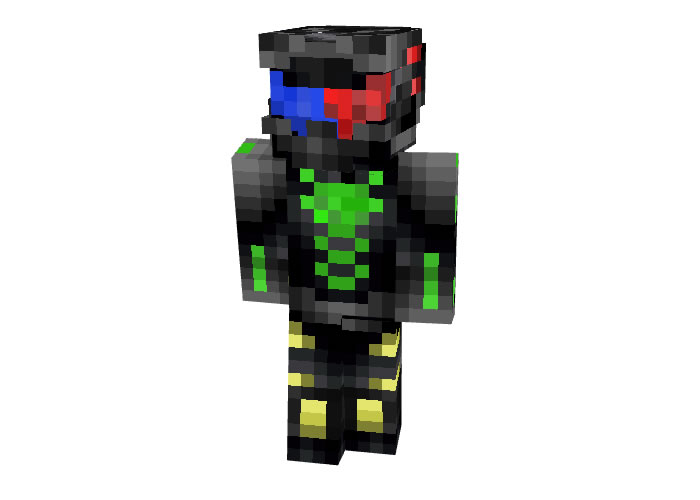 The Super Freelancer Skin for Minecraft