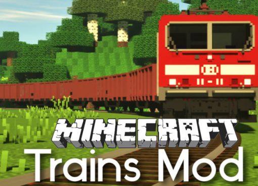 Trains Mod for Minecraft