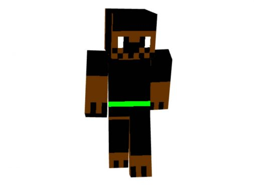 A Cool Dog Skin for Minecraft