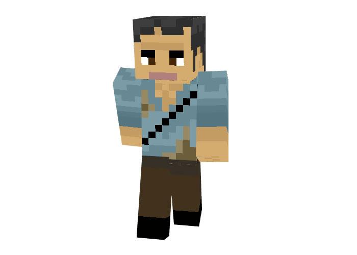Bear Grylls Skin for Minecraft