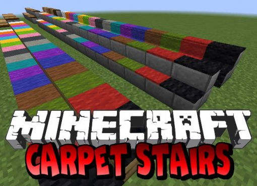 Carpet Stairs Mod for Minecraft