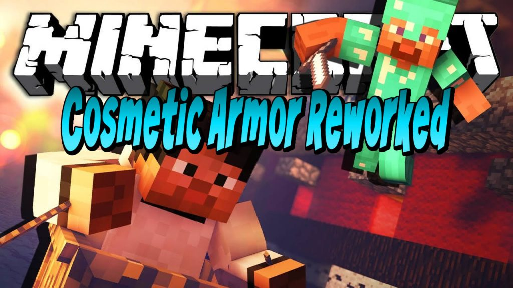 Cosmetic Armor Reworked Mod for Minecraft