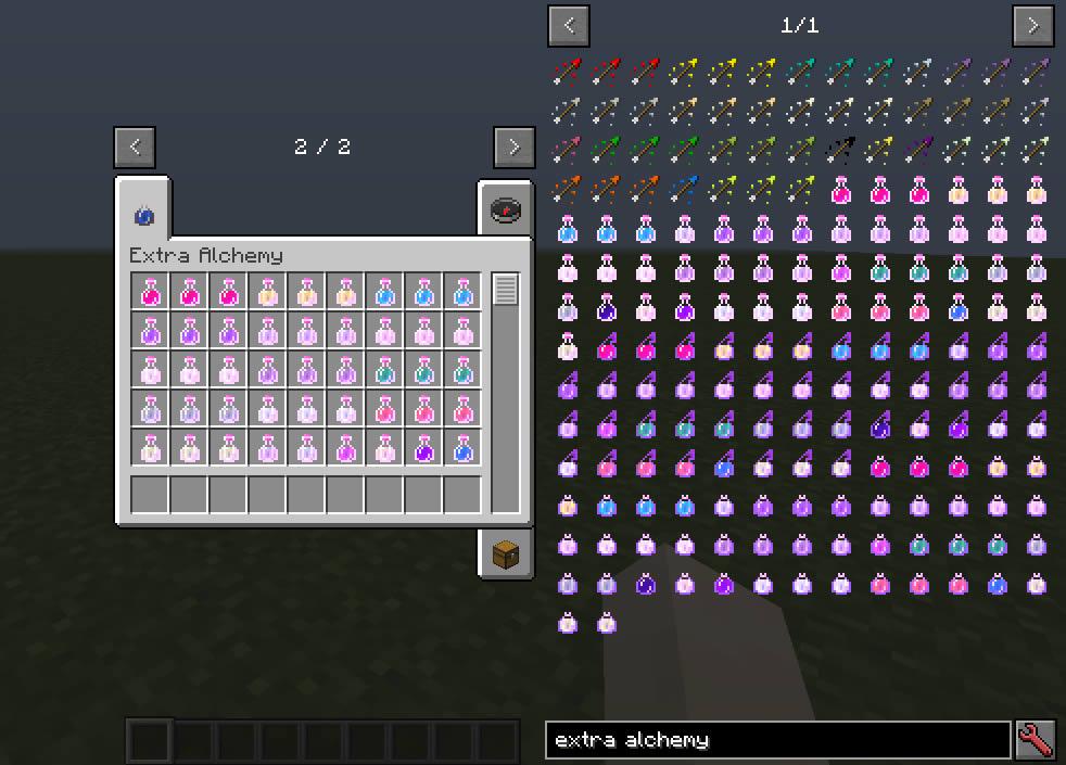 Extra Alchemy Mod Screenshot