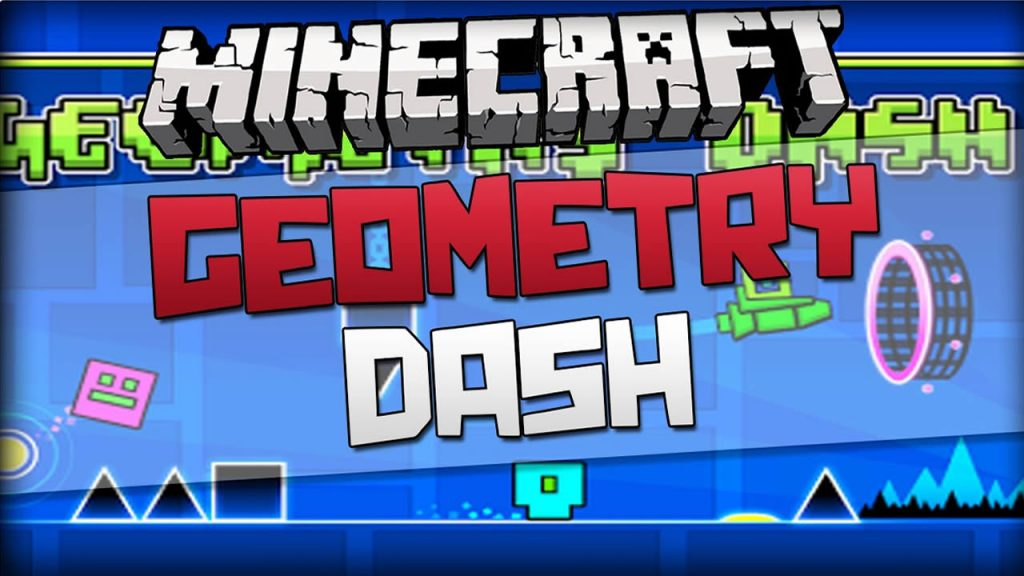 Geometry Dash Map for Minecraft