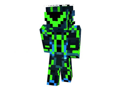 Infected Tron Skin for Minecraft