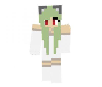 Kawaii Neko Skin for Minecraft Girl