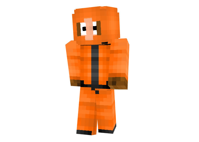 Kenny McCormick (South Park) Skin for Minecraft