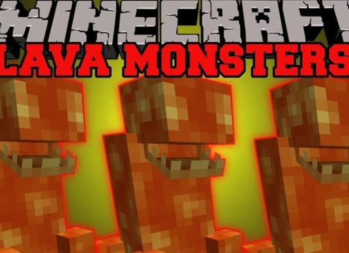 Lava Monsters Mod for Minecraft