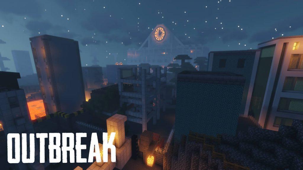 Outbreak Map Screenshot