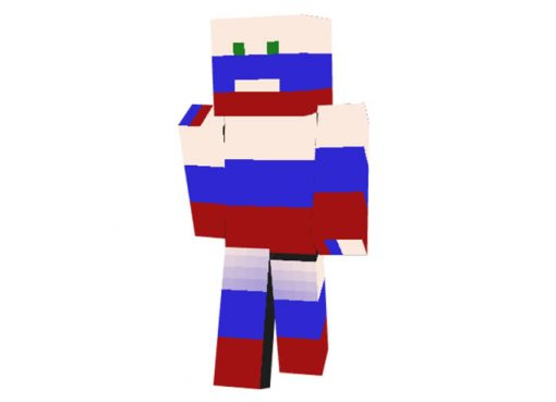 Patriot of Russia Skin for Minecraft
