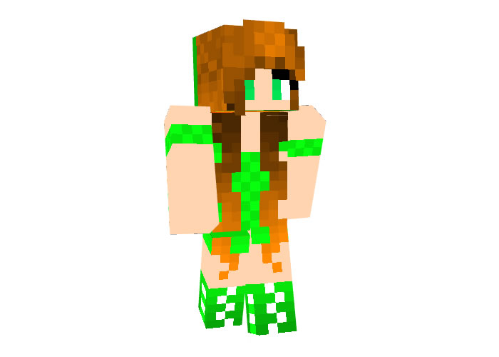 Patties Day Girl Skin for Minecraft