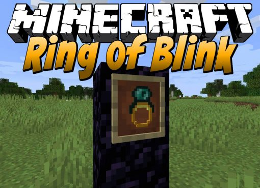 Ring of Blink Mod for Minecraft