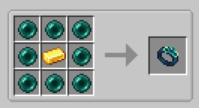 Ring of Blink Mod Crafting Recipe