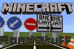 Road Stuff Mod for Minecraft