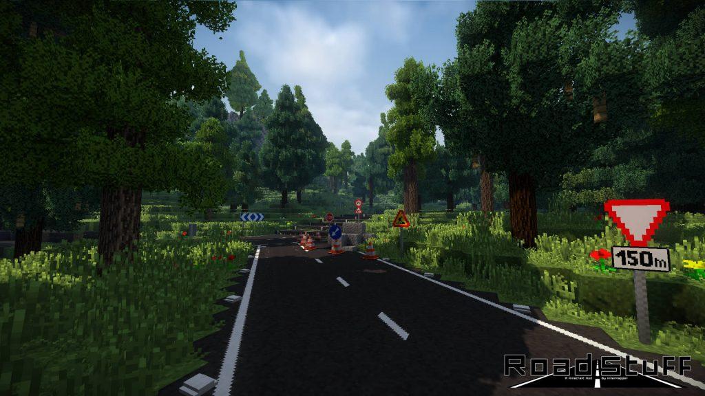 Road Stuff Mod Screenshot
