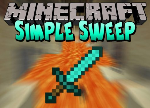 Simple Sweep Mod for Minecraft