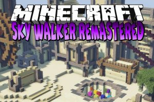Sky Walker Remastered Map for Minecraft