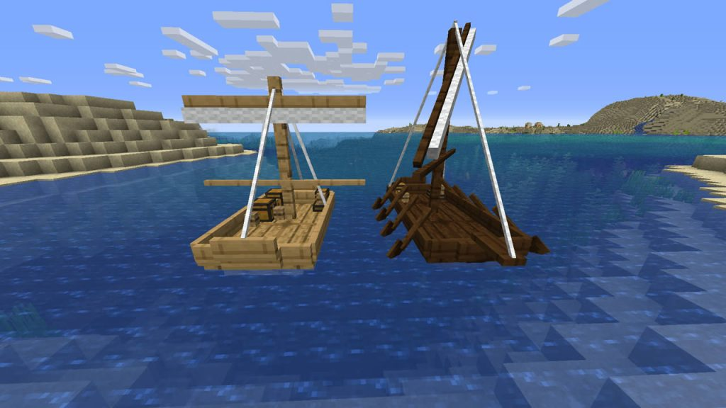 Small Ships Mod Screenshot