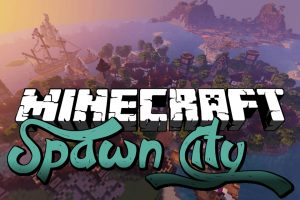 Spawn City Map for Minecraft
