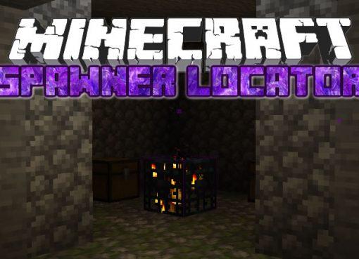 Spawner Locator Mod for Minecraft