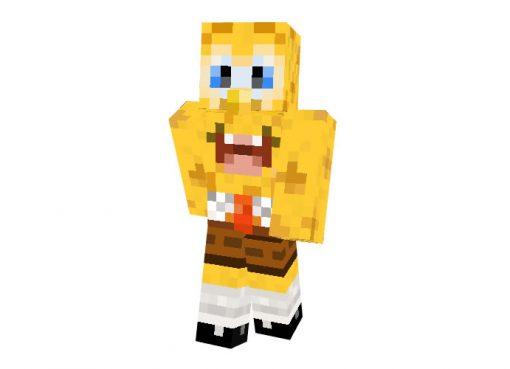 SpongeBob SquarePants Skin for Minecraft