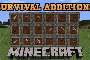 Survival Additions Mod for Minecraft