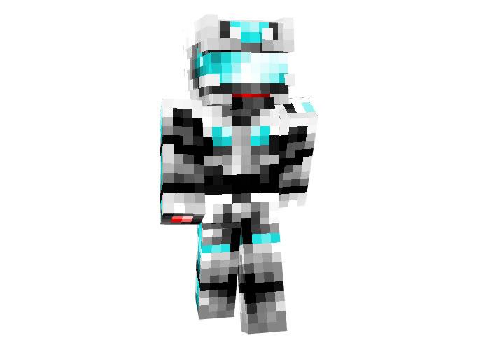 Techa Armour Minecraft Robot Skin