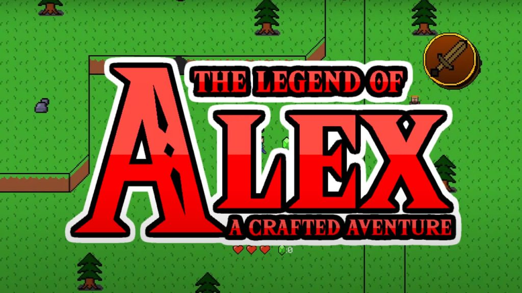 The Legend of Alex Map for Minecraft