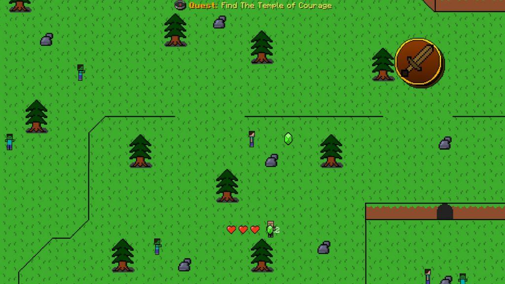 The Legend of Alex Map Screenshot