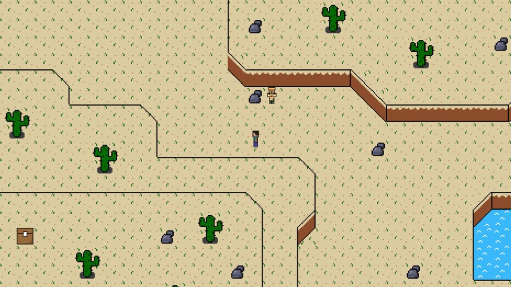 The Legend of Alex Map Screenshot 2