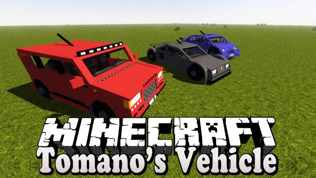 Tomano's Vehicle Mod for Minecraft