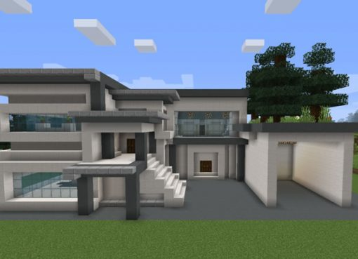 Two Storey House Map for Minecraft