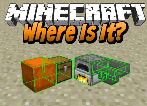 Where Is It Mod for Minecraft