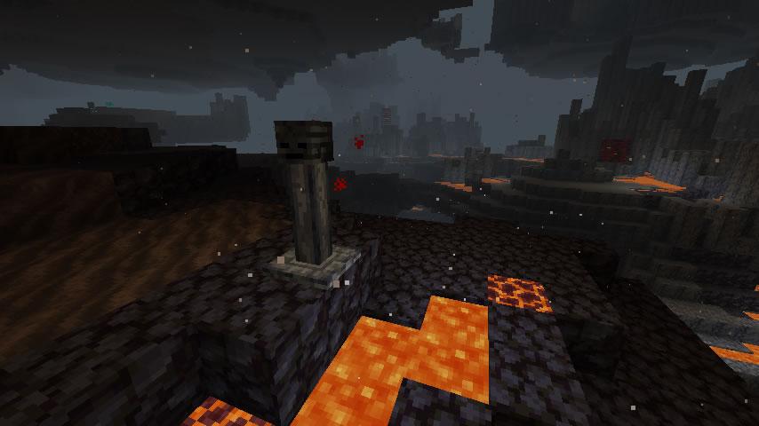 Wither Skeleton Totem Mod Screenshot