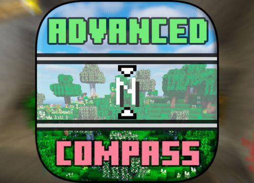 Advanced Compass Mod for Minecraft